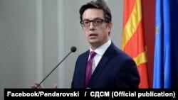 Stevo Pendarovski, kandidat për president i Maqedonisë së Veriut