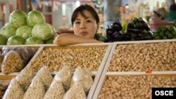 Бишкектеги Ош базары,