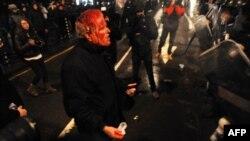 Proteste violente la Sofia, 19 februarie 2013