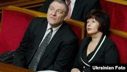 Євген Захаров та Валерія Лутковська, Київ, 15 березня 2012 року