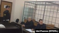 Pamje nga një proces gjyqësor në Rusi