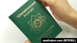 Türkmenistanyň raýatynyň Türkmenistandan gitmäge we Türkmenistana gelmäge degişli pasporty