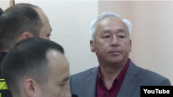 The official declined to comment on the possible release of recently jailed land-reform protesters and the chairman of the Kazakh Journalists' Union, Seitqazy Mataev (pictured).