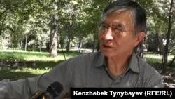Жасарал Куанышалин, бывший заместитель председателя гражданского движения «Азат». Алматы, 30 июня 2016 года.