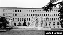 Switzerland -- Headquarters of the International Labour Organisation in Geneva, 01Sep1966
