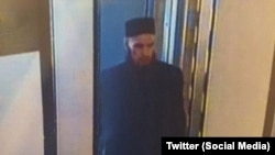 The suspect pictured in this image turned out to be a former paratrooper from Bashkortostan.