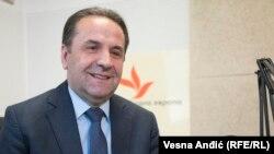 Српскиот министерза трговија, туризам и телекомуникации Расим Љајиќ