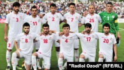 Tajikistan, Dushanbe city, tajikistan national football team,16April2015