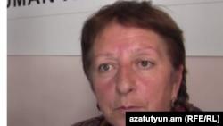 Правозащитница из Армении Жанна Алексанян.