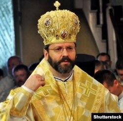 Глава Української греко-католицької церкви Святослав (Шевчук)