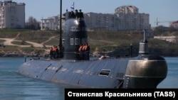 Подводная лодка «Запорожье», архивное фото