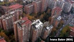 Pamje e një pjese të Shkupit