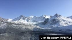 Қырғызстандағы Құмтөр кеніші (Көрнекі сурет).