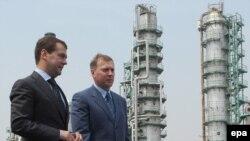 Dmitry Medvedev la Habarovsk