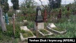 Могила молодой девушки, захоронение 1935 года