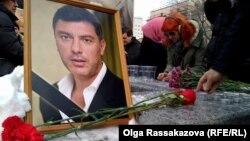 Boris Nemtsovu anma mərasimi - Xabarovsk