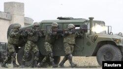 Епізод попередніх військових навчань у Грузії, 2015 рік