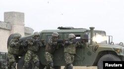 Эпизод предыдущих военных учений в Грузии, 2015 год