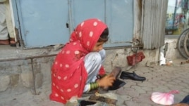 Before she was able to attend school, Palwasha shined shoes and sold bread to bring money home to her family.