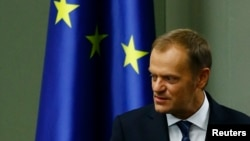 """Polish Prime Minister Donald Tusk """"has the kind of abilities that can be helpful to him as a new leader in the European Union,"""" Joanna Wajda says."""