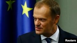 Avropa İttifaqının prezidenti Donald Tusk.