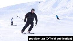 İ.Əliyev «Şahdağ»da. 30 yanvar 2018