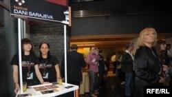 Sa prošlogodišnjeg festivala Dani Sarajeva, 14. maj 2009. Foto: Vesna Anđić