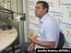 """Seyfəddin Hüseynli Azadlıq Radiosunun """"Pen klub"""" proqramında"""