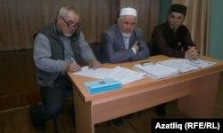 Хәлил Әюпов (с), Раиф Галиев һәм Илдар Сәйфуллин