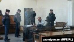 Павел Манукян в зале суда (архив)