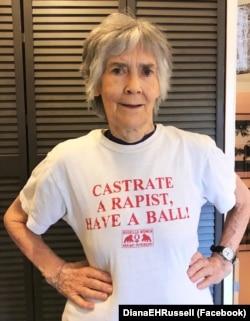 Американская феминистка Диана Рассел (80) продолжает вести борьбу за права женщин. В мае прошлого года она выпустила книгу против порнографии – одного из методов деперсонализации, овеществления женщин, нормализации гендерного насилия.