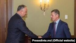 Встреча в Москве Игоря Додона и Дмитрия Козака