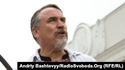 Один із ініціаторів Форуму Євромайданів письменник Віталій Капранов
