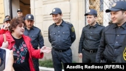 Журналистка Хадиджа Исмаил. Архивное фото