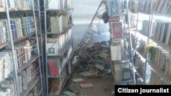 Последствия землетрясения в Иссык-Кульской области.
