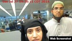 رضوان فاروق و همسرش شفین مالک. ضاربان کشتار سنبرناردینو