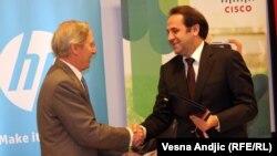 Sa potpisivanja memoranduma, Beograd, 10. oktobar 2012.