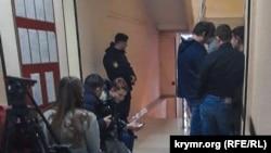 Журналисты в российском суде Симферополя