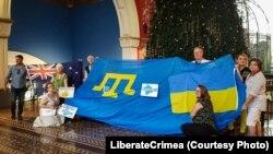 """""""Байрак белән берләшү - #LiberateCrimea"""" акциясе"""