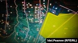 Желтым выделен участок, предназначенный инвестору.