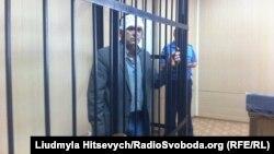 Олександр Орлов під час засідання суду. Одеса, 19 серпня 2015 року
