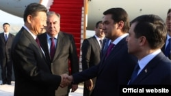 Визит председателя КНР Си Цзиньпина в Таджикистан