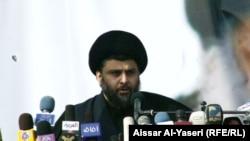 Лидер радикальных шиитов в Ираке Моктада ас-Садр