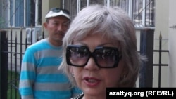 Гульжан Ергалиева, редактор сайта guljan.org. 26 сентября 2011 года.