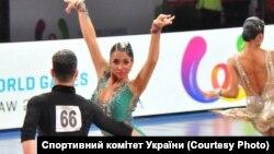 Українська пара Оксана Лук'яненко – Роман Гербей