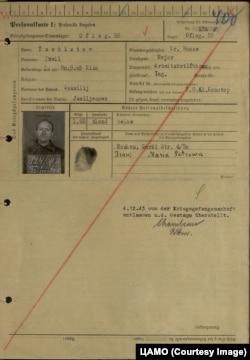 Павел Чистов скрыл от немецев, что он чекист, а значок депутата и партбилет выикнул