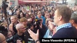 Алексей Навальный, Москва, Арбат, 24 мая 2012