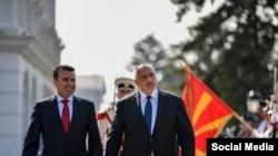 Зоран Заев и Бойко Борисов през август 2019 г.
