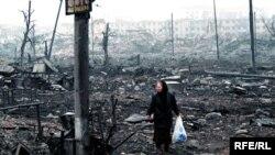 Грозный сильно пострадал от штурмов в 1994, 1996 и 1999 годах