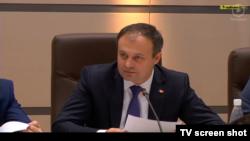 Andrian Candu, spikerul Parlamentului (PD), 2016